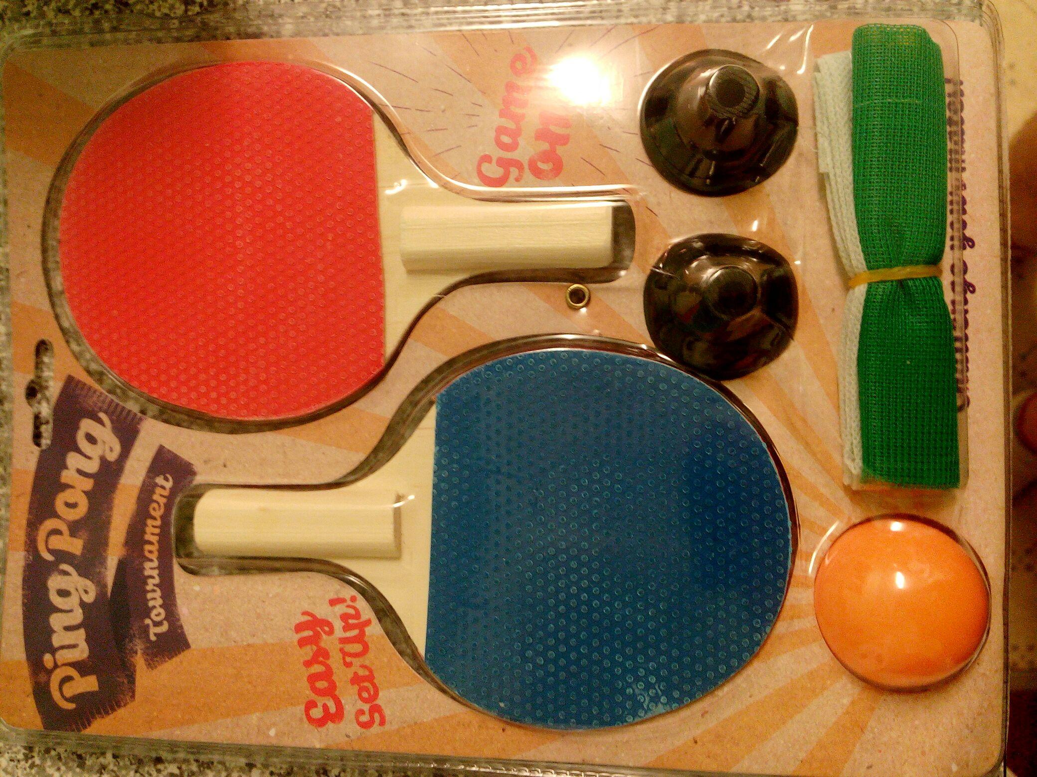 Ping pong Tournament set £1!!! @ poundland