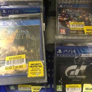 Assassins Creed: Origins £36.80 instore @ tesco