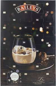Baileys advent calendar. In stock £11.70 @ Debenhams.