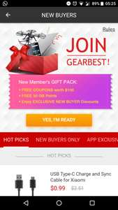 Gearbest offering $100 coupons for new customers