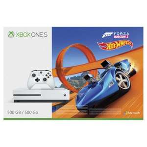 XBOX One S, Forza + Hot Wheels Bundle with COD WW2 + 3Months Xbox Live - £199.99  Tesco Direct