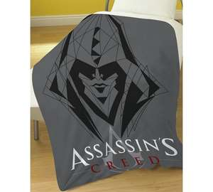 Assassin's Creed Fleece Blanket + FREE Delivery £6.99 @ Argos