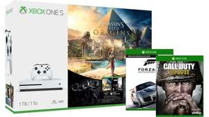 Xbox One S 1TB Assassin's Creed Origins Bundle + Call of Duty: WWII, Forza Motorsport 7 - 249.99 @ MS Store IR