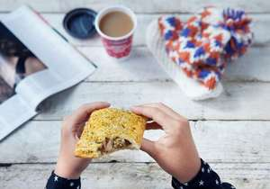 Greggs Christmas Festive back £1.50 from 9th Nov + Christmas biscuits from 85p & More