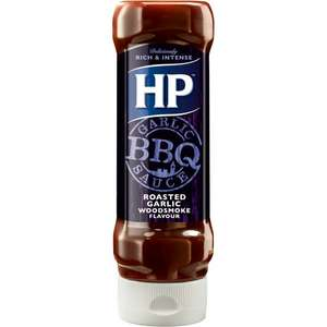 HP Roasted Garlic BBQ Sauce (465g) now only 10p @ Poundstretcher