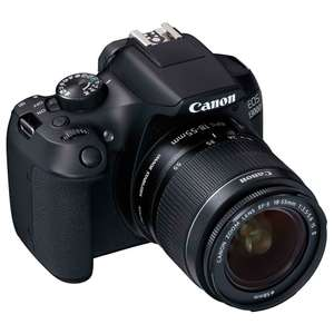 CANON EOS 1300D DSLR Camera BUNDLE with 18-55 mm Lens +8G SD card +Canon Bag, £269.98 @ Costco