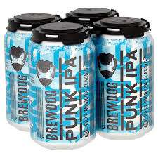 Tesco Brewdog Punk IPA 330 ml - 4 can packs - save £2 instore