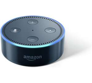 Amazon Echo Dot Multimedia Speaker - Black or White get TWO for £74.98 at Argos (works our £37.49 each)