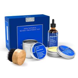 Anjou Beard Treatment Gift Set  - Now £9.99 Prime / £13.99 non prime @ Amazon/SVT