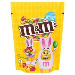 M&M'S Peanut Easter Bag 165g for 25p / Other items. Also Twix 50g Bar for 10p. In Store Poundstretcher