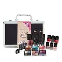 Girly Gifts - colour cargo-Black glitter boxed make-up gift set £21.00 from £35 @ debenhams