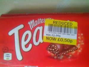 100g malteaser teasers reduced to 50p @ Tesco