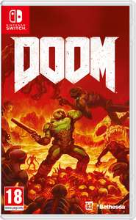 Doom nintendo switch £37.27 at eshop