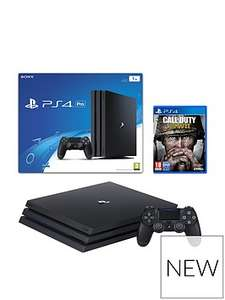 PS4 Pro with Call of Duty WWII, 365 PSN Subscription and Extra Controller £489.99 at VERY