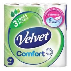 Velvet Comfort Toilet Rolls x 9 £3 @ Londis were £6.25