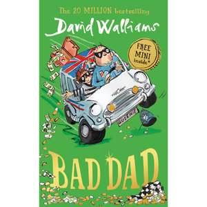 New David Walliams book 'Bad Dad' £5 Sainsbury's instore / online