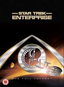 Star Trek Enterprise Complete DVD Box Set @ Zoom £20 (use code get it for £18)