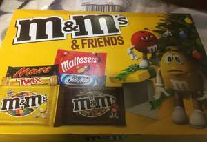 184g M&M & friends selection box £1 at poundland