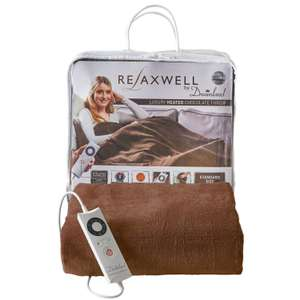 Dreamland Relaxwell washable heated electric throw was £44.99 now £35.99 delivered @ eBay sold by co-op