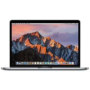 "2017 Apple MacBook Pro 13"" Touch Bar, Intel Core i5, 8GB RAM, 256GB SSD Space Grey £1549 @ John Lewis"