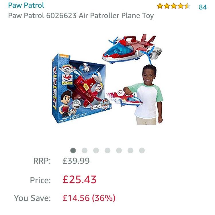 Paw patrol air patroller plane £25.43 @ Amazon