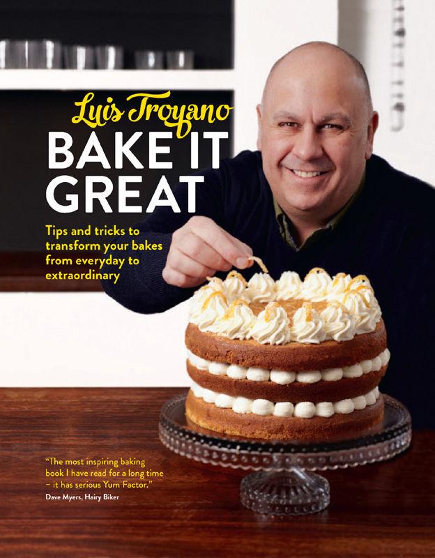 Bake It Great by Luis Troyano Hardback £2 @ TheWorks