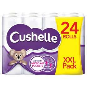 24 Cushelle £8 @ Asda (Online and Instore)