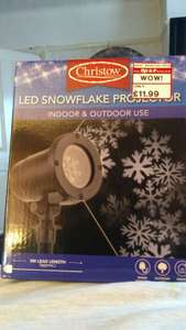 Led Snowflake Projector £11.99 @ This is it - Poole