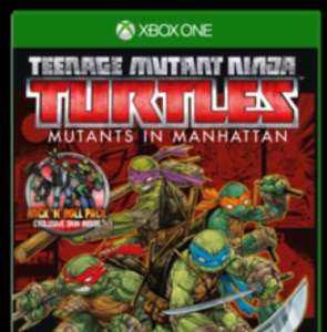 Teenage Mutant Ninja Turtles: Mutants In Manhattan Roller Edition (XB1) £9.99 @ GAME