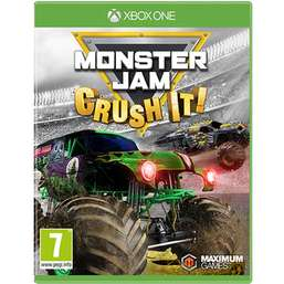 Monster Jam - Crush It (XBOX ONE) £9.99 @ Game