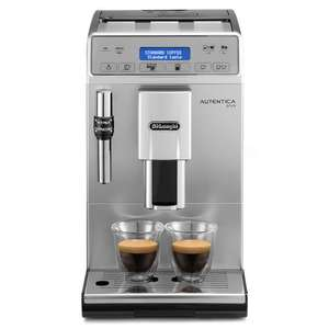DeLonghi Autentica Plus ETAM29.620.SB Bean to Cup Coffee Machine from Co-Op (Members only - sign up online) for £289.99 + £45 worth of free gifts + £14.49 back on card CODE CP40 for £259.99