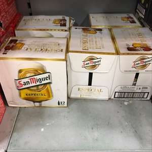 San Miguel 12 bottles £7.15 reduced from £11 @ Tesco