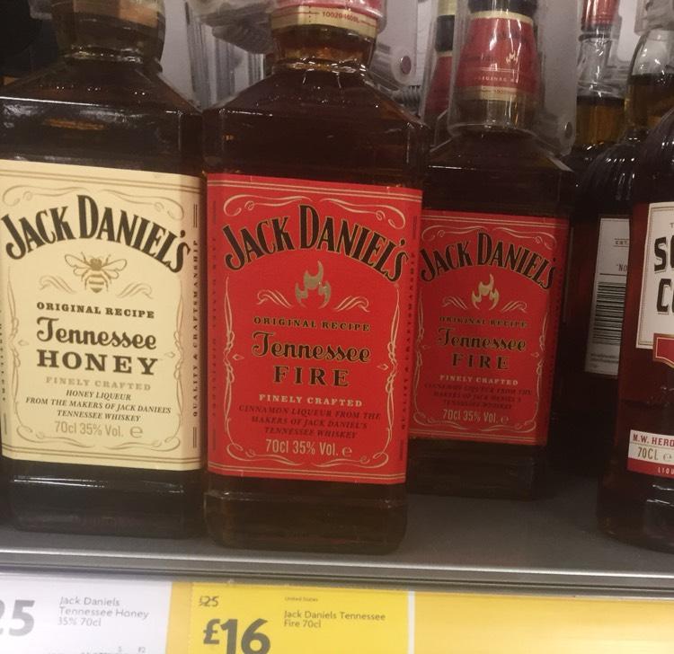 Jack Daniels Tennessee Fire 70cl £16 @ Morrisons