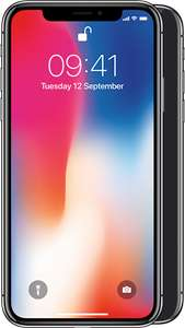 IPHONE X BARGAIN PRICE! £64 per month + £49.99 upfront - £1585.99 - Mobilephonesdirect