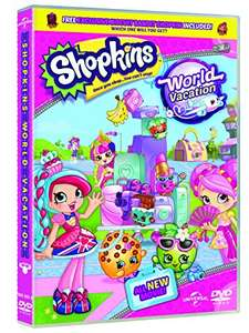 Shopkins: World Vacation (Includes Free Biscuit Bandit Shopkin) [DVD] £6.30 delivered (with code  SIGNUP10) @ Zoom