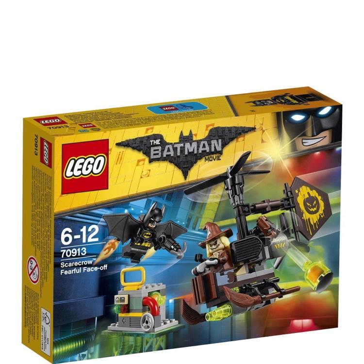 "LEGO UK 70913 ""Scarecrow Fearful Face-Off"" £8.71 Prime / £12.70 Non Prime @ Amazon"