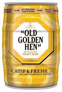 Old Golden Hen Beer Mini Keg, 5 L £11.25 @ Amazon (Prime) £16 (non Prime)
