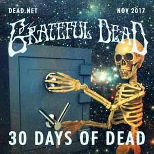 A piece of The Grateful Dead (MP3 / 320 Kbps) FREE every day of November