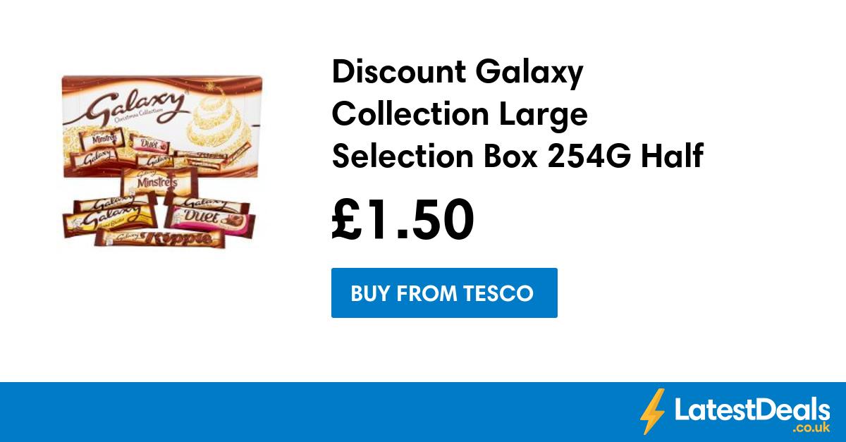 Galaxy Christmas Collection large selection box half price £1.50 @tesco express
