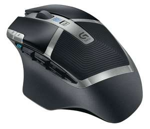 LOGITECH G602 Wireless Gaming Mouse - Grey & Black, £39.99 from PC world