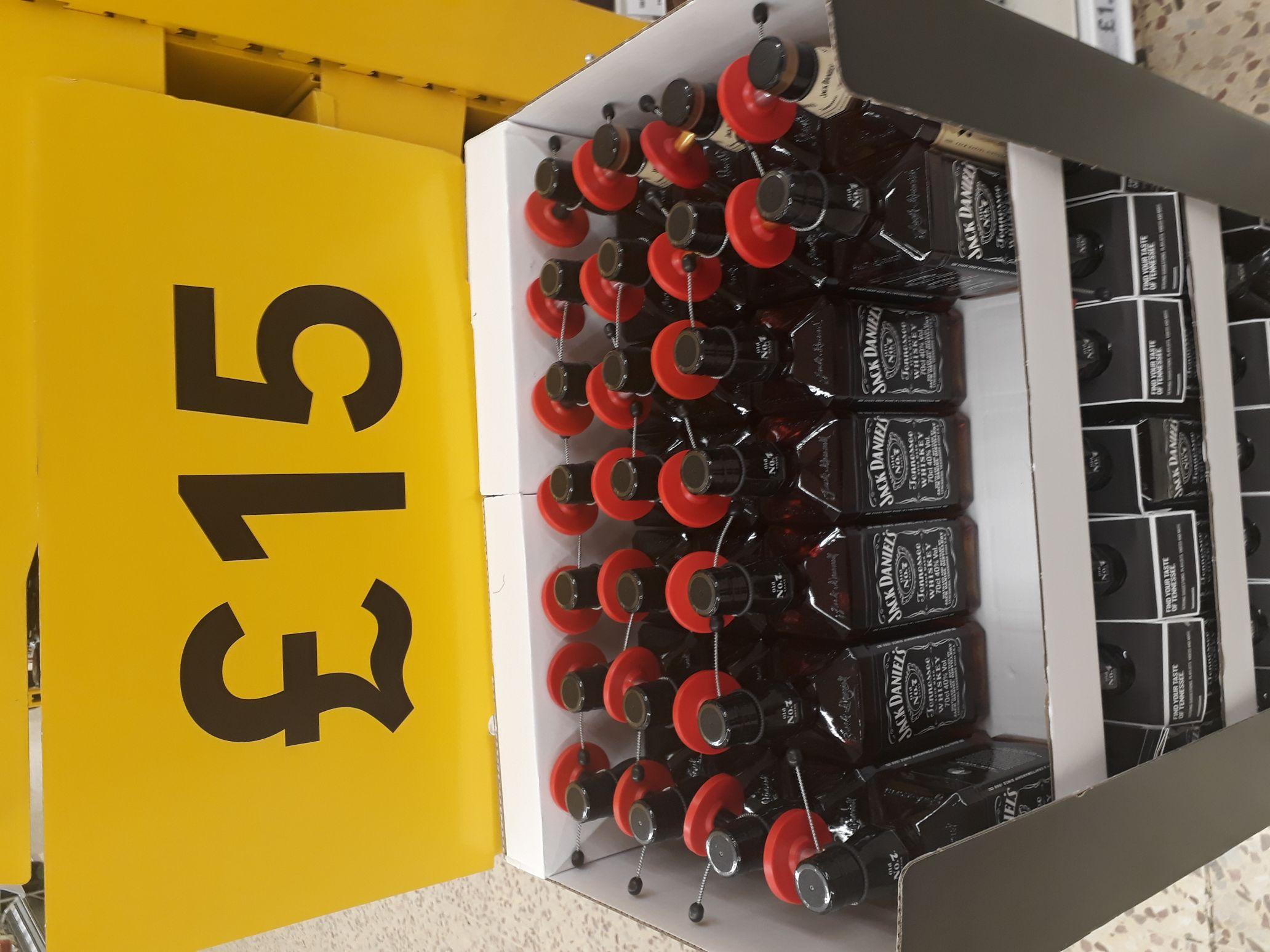 Jack Daniels 70cl £15 instore @ Tesco