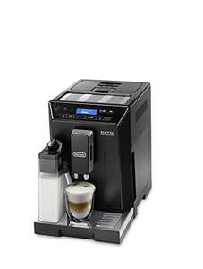 De'Longhi ECAM44.660.B Eletta Bean to Cup Coffee Machine, 1450 W - Black | amazon