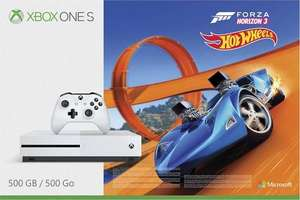 Xbox One S 500gb with Hot Wheels, Forza Horizon 3, Forza Motorsport 7, extra controller and 3 months xbox live gold £245 instore @ Tesco Burseldon