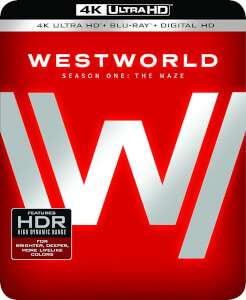 Westworld Season 1Ultra HD Blu Ray only £35.99 delivered @ Zavvi