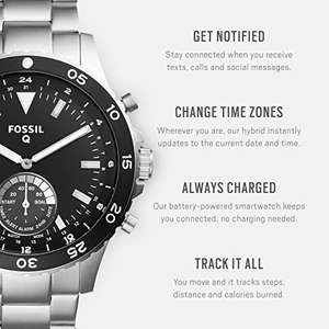Fossil Men's Hybrid Smartwatch FTW1126 - £116 @ Amazon Prime Exclusive