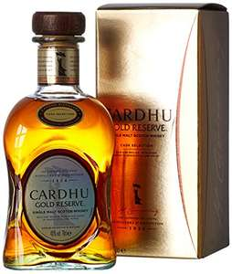 Cardhu Gold Reserve Single Malt Scotch Whisky, 70 cl, £24.99 from amazon