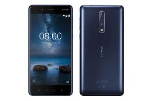 Free Nokia 8 blue £22 per month/24 months at Affordable Mobiles - £528