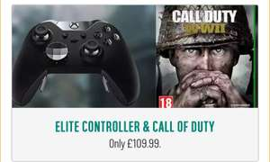 Xbox One Elite Controller with Call of Duty WW2 for £109.99 at Argos