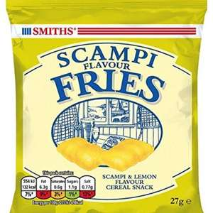 Smiths - Scampi Fries. Pack of 24. Was £12.00 now £7.49 @amazon (Prime or add £2.99)