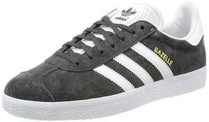 adidas Men's Gazelle Low-Top Trainers GREY sizes 8 & 9 at Amazon for £56.21